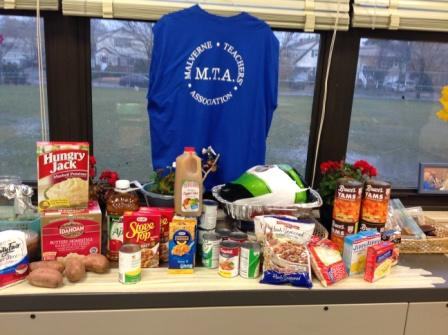 MTA Thanksgiving Food Drive
