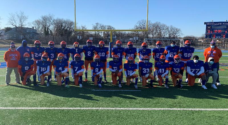 Boys JV Football Team Group Photo