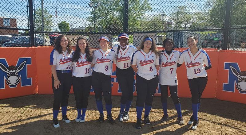 Softball Seniors Team Photo