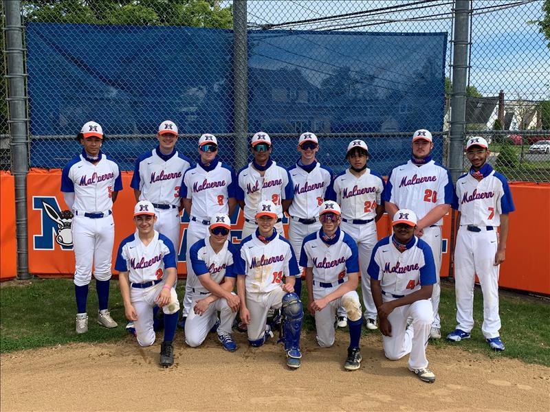 Baseball Seniors Team Photo