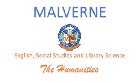 humanities banner