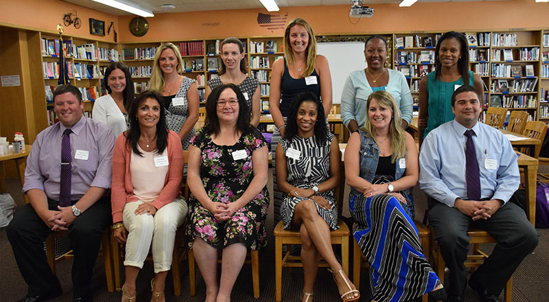 New Teachers Welcomed