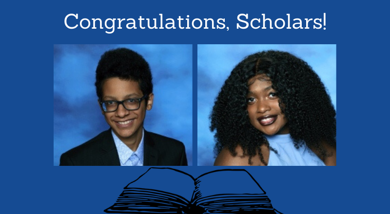 Students Awarded as Distinguished Scholars