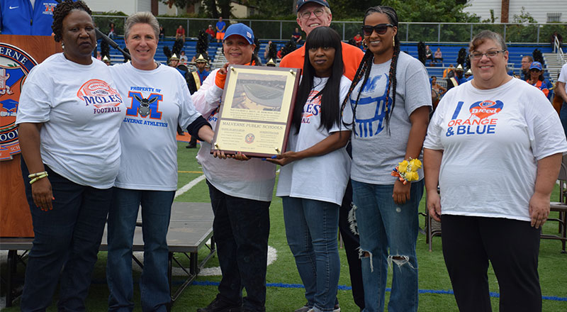 Homecoming & Field Dedication Ceremony