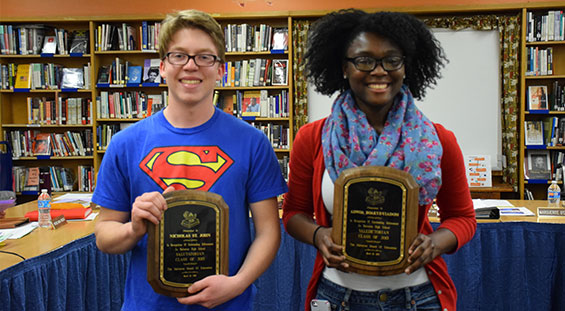 BOE Recognizes Star Students