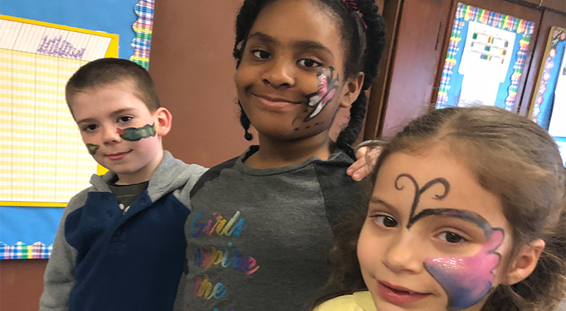 Face Painting Fundraiser