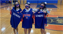 Senior Cheerleaders Honored for Dedication photo  thumbnail180913