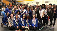 Winter Guard Finishes Third photo